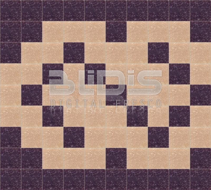 Glass tiles border for decorative facing brown hooks