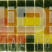 Glass Tiles Border for Decorative Applicaiton: Colored Path Small