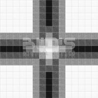Glass Mosaic Repeating Pattern: White Squares - pattern