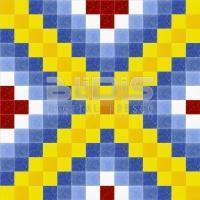 Glass Mosaic Repeating Pattern: Colored Tracery - pattern