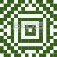 Glass Mosaic Repeating Pattern: Green Chaos - pattern