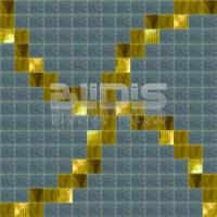 Glass Tiles Repeating Pattern for Decative Application: Golden Chains - pattern