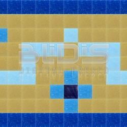 Glass Tile Border for Decorative Application: Colored Emotion