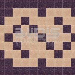 Glass Tiles Border for Decorative Facing: Brown Hooks