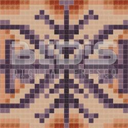 Glass Tile Repeating Pattern Module:  Hieroglyphics