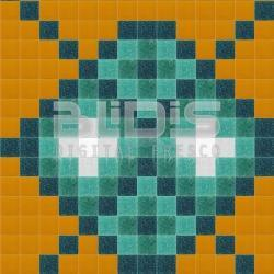 Glass Tiles Repeating Pattern: Indian Tracery - pattern