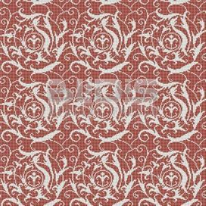 Glass Mosaic Repeating Pattern Module: Red Tribal