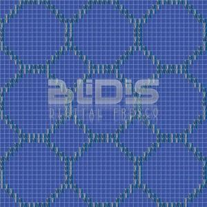 Glass Mosaic Repeating Pattern: Seabed - pattern tiled