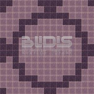 Glass Tiles Repeating Pattern: Purple Flowers - pattern