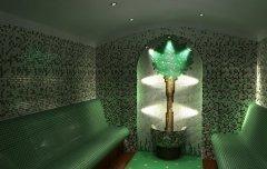 Стъклокерамика за парна баня
